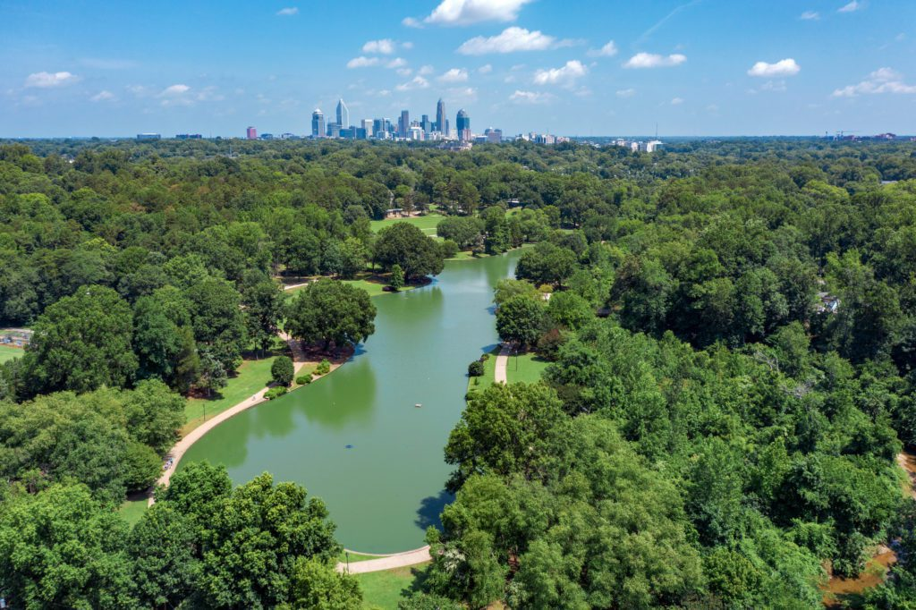 there are tons of free outdoor concerts in charlotte